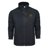 Columbia Ascender Softshell Black Jacket-Badge