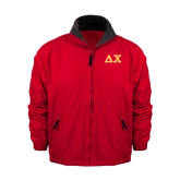 Red Survivor Jacket-Greek Letters