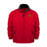 Red Survivor Jacket-Contemporary Coat Of Arms
