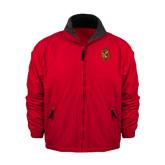 Red Survivor Jacket-Contemporary Coat Of Arms