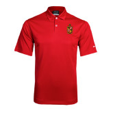 Nike Dri Fit Red Pebble Texture Sport Shirt-Contemporary Coat Of Arms
