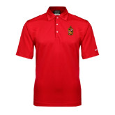 Nike Sphere Dry Red Diamond Polo-Contemporary Coat Of Arms