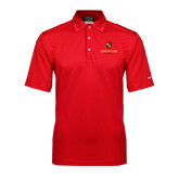 Nike Sphere Dry Red Diamond Polo-Delta Chi Fraternity W/ Shield Stacked