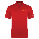 Columbia Red Omni Wick Drive Polo-Greek Letters