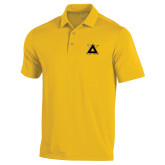Under Armour Gold Performance Polo-Badge