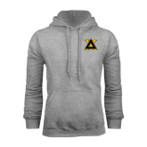 Grey Fleece Hoodie-Badge