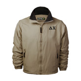 Khaki Survivor Jacket-Solid Greek Letters