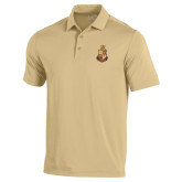 Under Armour Vegas Gold Performance Polo-Legacy Coat Of Arms