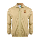 Colorblock Vegas Gold/White Wind Jacket-Legacy Coat Of Arms