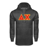 Under Armour Carbon Performance Sweats Team Hoodie-Tackle Twill Greek Letters
