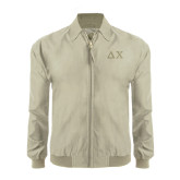 Khaki Players Jacket-Solid Greek Letters