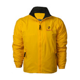 Gold Survivor Jacket-Delta Chi Fraternity W/ Shield Stacked
