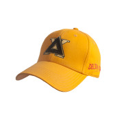 Gold Heavyweight Twill Pro Style Hat-Badge