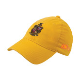 Gold Flexfit Mid Profile Hat-Contemporary Coat Of Arms