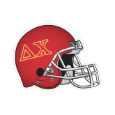 Football Helmet Magnet-Greek Letters