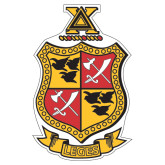 Extra Large Magnet-Contemporary Coat Of Arms