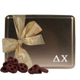 Twisted Goodness Gold Tin 9oz-Delta Chi Engrave
