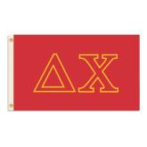 3 ft x 5 ft Flag-Greek Letters