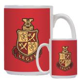 Full Color White Mug 15oz-Legacy Coat Of Arms