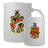 Full Color White Mug 15oz-Contemporary Coat Of Arms