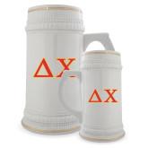 Full Color Decorative Ceramic Mug 22oz-Greek Letters