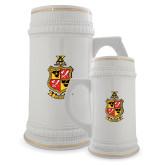 Full Color Decorative Ceramic Mug 22oz-Contemporary Coat Of Arms