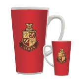 Full Color Latte Mug 17oz-Legacy Coat Of Arms