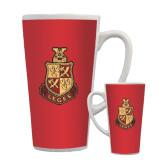 Full Color Latte Mug 17oz-Legacy Coat Of Arms