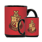 Full Color Black Mug 15oz-Legacy Coat Of Arms