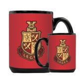 Full Color Black Mug 15oz-Legacy Coat Of Arms
