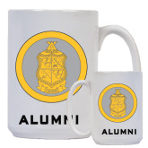 Alumni Full Color White Mug 15oz-Life Loyal