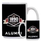 Alumni Full Color White Mug 15oz-The 1890 Society