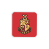 Hardboard Coaster w/Cork Backing 4/set-Legacy Coat Of Arms