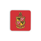 Hardboard Coaster w/Cork Backing 4/set-Contemporary Coat Of Arms