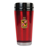 Solano Acrylic Red Tumbler 16oz-Contemporary Coat Of Arms