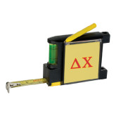 Measure Pad Leveler 6 Ft. Tape Measure-Greek Letters