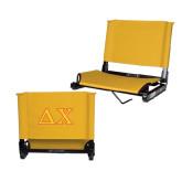 Stadium Chair Gold-Greek Letters