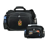 Hive Checkpoint Friendly Black Compu Case-Contemporary Coat Of Arms
