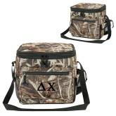 Big Buck Camo Sport Cooler-Solid Greek Letters