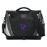 Slope Black/Grey Compu Messenger Bag-Interlocking DC