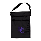 Koozie Black Lunch Sack-Interlocking DC