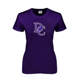 Ladies Purple T Shirt-DC Football