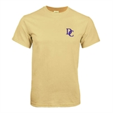 Champion Vegas Gold T Shirt-Interlocking DC