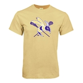 Champion Vegas Gold T Shirt-DC Crossed Lacrosse Sticks