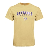 Champion Vegas Gold T Shirt-Arched Defiance College