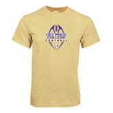 Champion Vegas Gold T Shirt-Tall Football Design