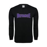 Black Long Sleeve TShirt-Defiance
