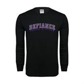 Black Long Sleeve TShirt-Track & Field
