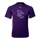 Under Armour Purple Tech Tee-DC Football
