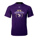 Under Armour Purple Tech Tee-Graphics in Basketball